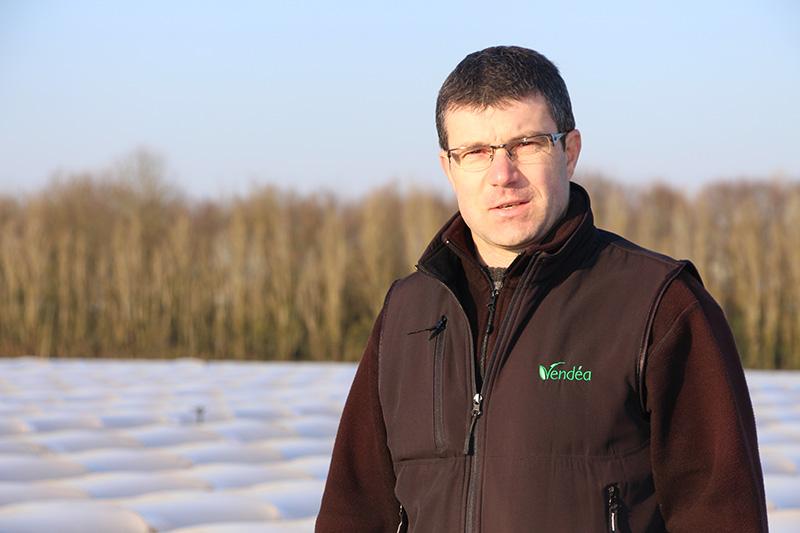 Denis Clavier, Responsable de production de la Scea Vendéa