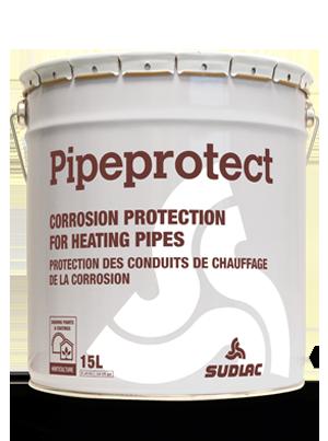 Cubo de pipeprotect, protección contra el óxido.