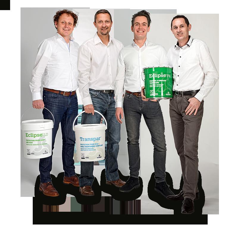 El equipo de ventas de Sudlac