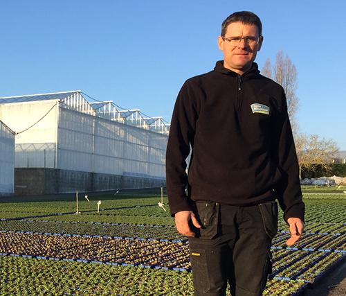 el Jefe de producción, Sébastien Feneau