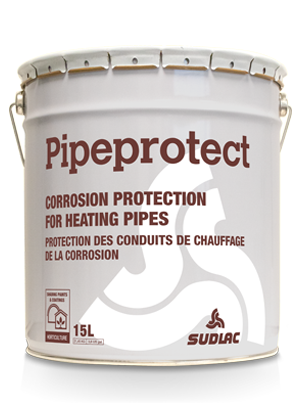 Pipeprotect corrosion protection greenhouse heating pipes